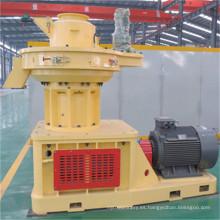 Máquina de pellets de biomasa con capacidad de 1 tonelada por hora