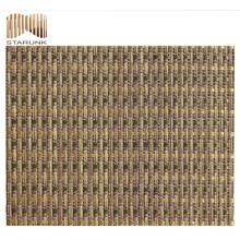 Tissu de maille tissé par vinyle de prix raisonnable avec la qualité supérieure