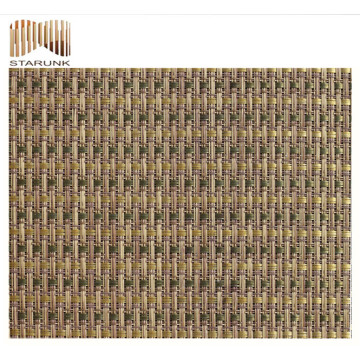 reasonable price vinyl woven mesh fabric with top quality