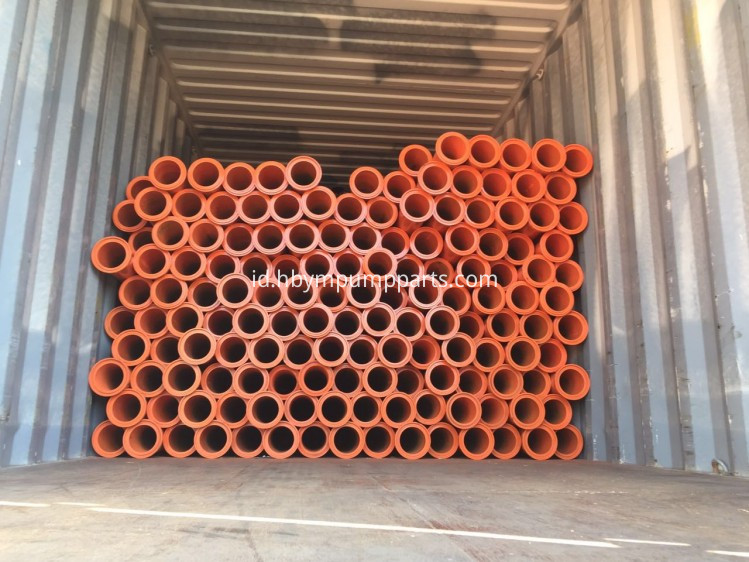 schwing spare parts load in container