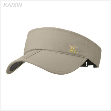 100% Baumwolle Werbe-Golf Sonnenblende Sport Sonnenblende Hut