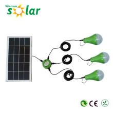 2015 populäre Fabrikpreis Indoor Led Solar Beleuchtungs-Kit