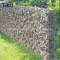 Cerca do jardim, soldado malha de arame gabião cesta gabião parede de esgrima