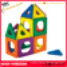 Brinquedos de plástico magnético inteligentes azulejos