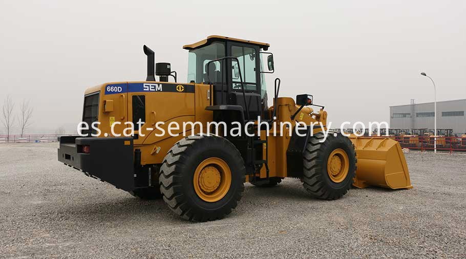 Sem660d Medium Wheel Loader