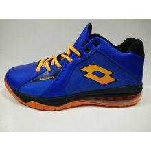 Men's Dark Blue ao ar livre Basketball Shoes Calçado desportivo