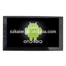7 pouces sans pont touchent complètement la chaîne stéréo universelle de voiture android avec GPS / Bluetooth / TV / 3G / WIFI