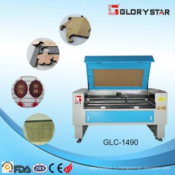Glc-1490 130watts Стеклянная лазерная трубка Деревянная акриловая бумага Лазерная резка