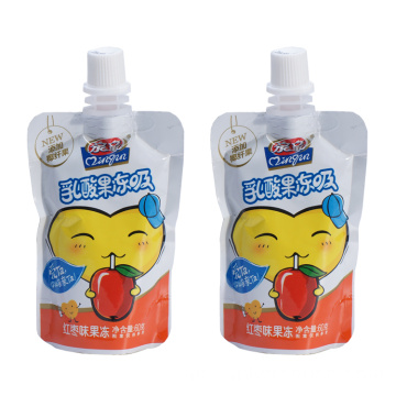 Spout Aluminium Plastic Yogurt Packaging Bag