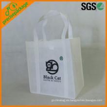 bolsa de compras no tejida ecológica reutilizable de alta calidad