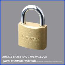 Top Quality Imitate Brass Arc Type Iron Padlock
