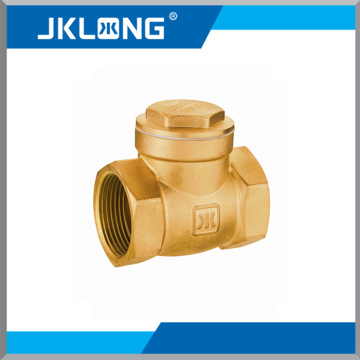 horizontal check valve brass made non return