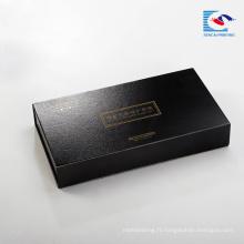 Sencai Vente chaude Rigide magnétique joint papier emballage cosmétique costume boîte