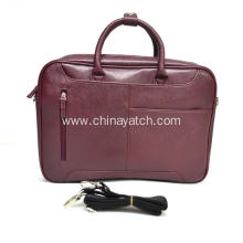 Leather Briefcase Office Bag Laptop bag