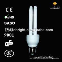 Energía ahorro lámpara 2U 15W 8000H calidad del CE