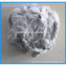 Fibre viscose au charbon de bambou