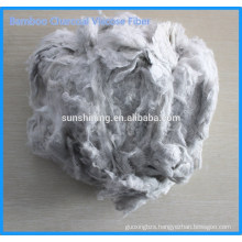 Bamboo Charcoal Viscose Staple Fiber