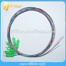 Colorful SC/APC Fiber Optical Pigtail 0.9mm
