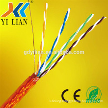 2017 china golden supplier low loss customized solid copper 4 pair UTP FTP STP SFTP Network Cable Cat5e cat6 cat6a