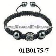 Модный квадратный браслет shamballa