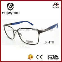 2015 mens metal optical spectacles frame with OEM logo