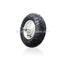 Roda 12inch do motor de 48v 500w com o pneu fora de estrada para o carrinho de mão