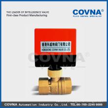 Mini válvula elétrica de controle remoto para o sistema da água do resfriamento sistema da bobina do ventilador