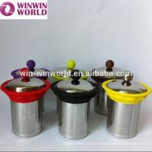Cerveza / cesta / filtro / infusor reutilizables del té lindo del reemplazo
