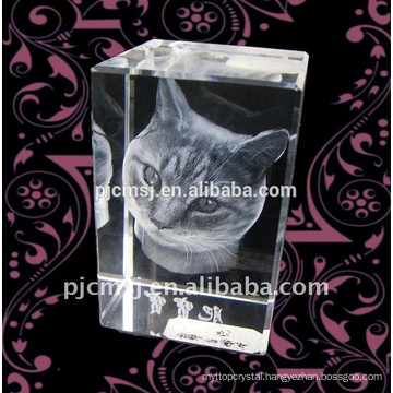High quality 3D Laser Crystal Gift