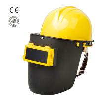 Industrial safety plastic hard hat welding helmet
