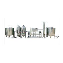 Komplette Fertigungslinie Mineralwasser