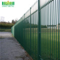 Powder Coated Steel W Pale Palisade Fencing