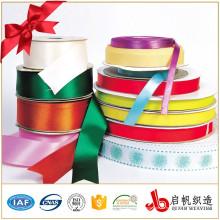 Kundengebundener hochwertiger Großhandelspreis Polyester-Satinband