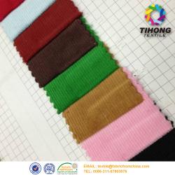 Gefärbter Baumwolle Cord Streifen Stoff