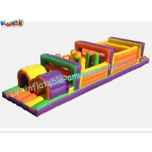 Inflatables Obstacle Course Tunnel Amusement Park Toy, Children Playground For Fun