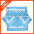50X50 unique a imprimé votre propre design bandana le moins cher