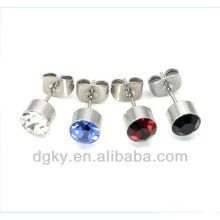 Fancy multy-gem Ohrstecker / Stecker, magnetisches Piercing