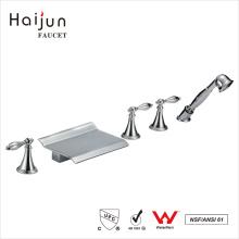 Haijun Precios al por mayor cUpc cubierta montada en latón grifería ducha