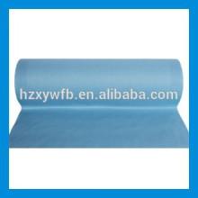 Polimento transversal / pano paralelo não tecido de Spunlace da polpa de madeira do poliéster viscoso