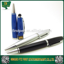 Touch Screen Stylus Touch Pen com unidade flash USB