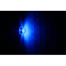 Md01-016 5mm Blue Strawhat Led Light Architectural Model Building Supplies