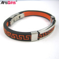 Custom Fashion Accessories Stainless Steel Smart Bangle Mens Bracelets,Engraved Bracelets Men Wholesale B209