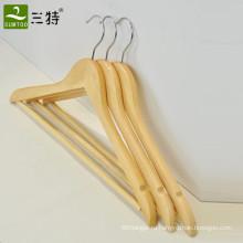 оптом отель из массива дерева прочные вешалки для одежды
