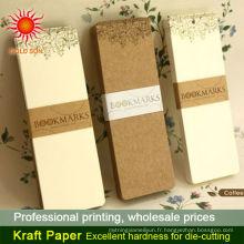 feuilles de papier de boucher brun