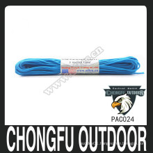 Dacron colorful paracord with custom logo for wholesale