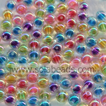 Easter 12mm Colorful Bubble Ball Tiny beads