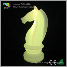 LED Chess Knight Lamp