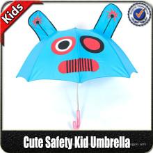 Atacado de alta qualidade de moda pequeno animal personalizado em forma de impressão guarda-chuva bonito da criança