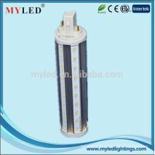 2700k-6000k G24 2pin 4pin G23 E27 360degree 11w conduziu a lâmpada do pl