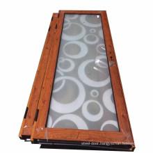 Insulated glass aluminium profile compact laminate toilet door